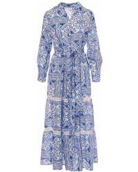 Motel Dress - Blauw