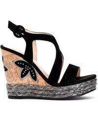 CafeNoir Hl501 Sandals - Noir