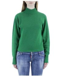 Sportmax Roll-up sweater - Verde