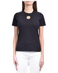 Elisabetta Franchi T-shirt - Zwart