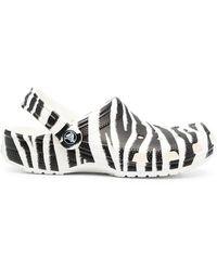Crocs™ Sandalen mit Zebra-Print - Mehrfarbig