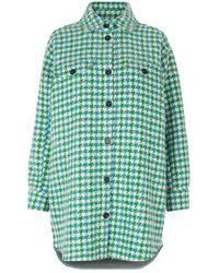 Munthe Doel Overhemd - Groen