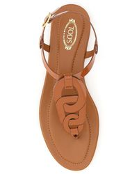 Tod's Thong Sandals - Bruin