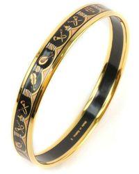 Hermès Tweedehands Armband - Geel