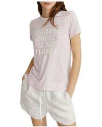 Ecoalf Camiseta - Roze