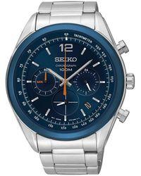 Seiko Watch Ur - Ssb091p1 - Grijs