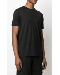 Karl Lagerfeld Crew-neck fitted T-shirt Negro