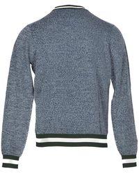 Sun68 Men's Sweater - Bleu