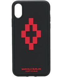 Marcelo Burlon Iphone Case - Zwart