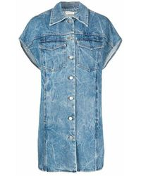 Dries Van Noten 212-010505-3381 giacche - Bleu