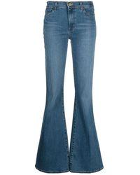 J Brand - Valentina Flared Jeans - Lyst