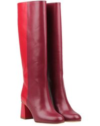 RED Valentino Boots - Rouge