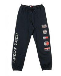 Tommy Hilfiger Sport Sweatpants - Blauw