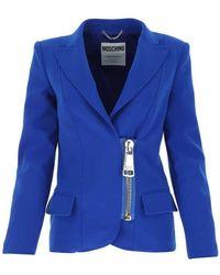 Moschino Blazer - Blauw