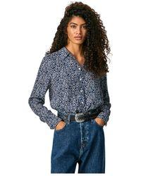 Pepe Jeans Camisa Carlo - Blauw