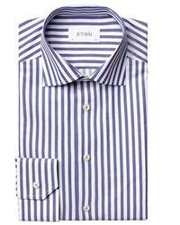 Eton Shirt - Blauw