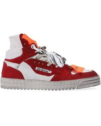 Off-White c/o Virgil Abloh Off Court Sneakers - Rood