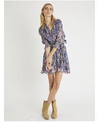 Berenice Dress - Blauw