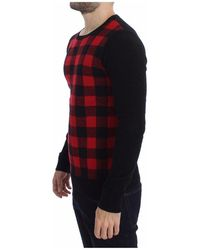 CoSTUME NATIONAL Crewneck Sweater - Rouge