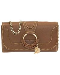 See By Chloé Hana Wallet On Chain - Bruin