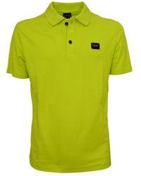 Paul & Shark - Organic Pique Cotton Polo Shirt - Lyst