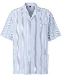 Santa Eulalia Short Striped Pyjamas - Blauw
