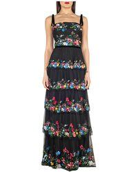 Marchesa Dress - Negro