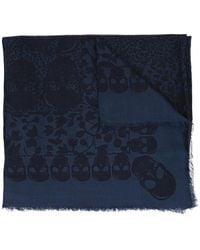 Zadig & Voltaire Patterned Scarf - Blauw