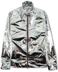 Soulland Hobbie Reflektive Light Zip Jacket - Grigio