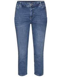 Mos Mosh Etta Novel Jeans 138720 - Blauw