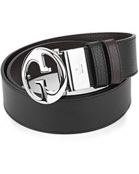 Gucci Reversible Belt - Zwart