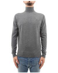 Calvin Klein Maglia a collo alto - Grigio