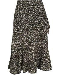 Lofty Manner Skirt Salvadora - Groen