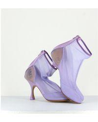 Maison Margiela Boots S40Wu0175 Morado