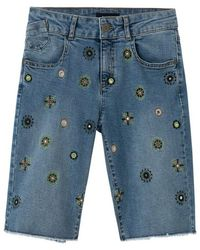 Desigual Shorts - Blauw