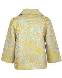 Molly Bracken Coat Amarillo