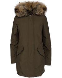 Woolrich Coats - Groen
