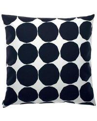 Marimekko Pienet kivet cushion cover - Noir
