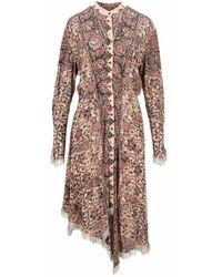 JW Anderson Dress Dr0184pg0645 - Roze