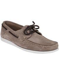 Car Shoe Flat Shoes - Naturel