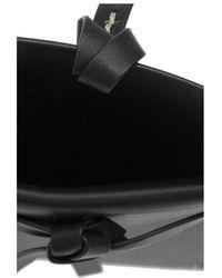 Jil Sander Logo pouch with strap - Nero