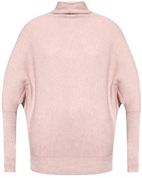 AllSaints Ridley ribbed sweater - Rosa