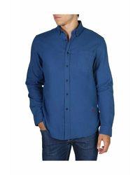 Hackett Hm 307532 shirt - Azul