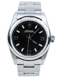Rolex Tweedehands Oyster Perpetual - Grijs