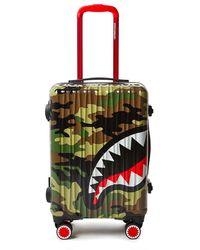 Sprayground Sharknautics Mid Luggage bag - Marrone