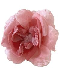 Gucci Bloem Broche - Roze