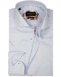 Cavallaro Overhemd Gonni - Blauw