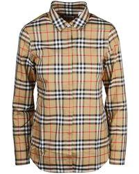 Burberry Shirt - Naturel