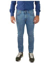 Roy Rogers 317 Denim Stretch Skinny Jeans - Blau