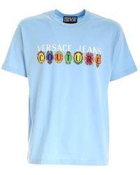 Versace T-shirt - Blauw